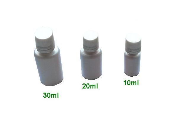 flacon din plastic 10-20-30 ml